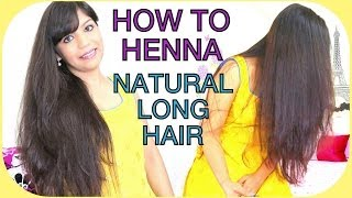 How To Apply Henna On Hair For Beginners,Easy Way,Indian Long Natural Hair ,Rajasthani Henna