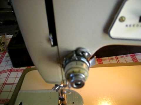40 Singer Fashion Mate Model 40 Sewing Machine In Action YouTube New How To Thread A Singer Sewing Machine Model 237