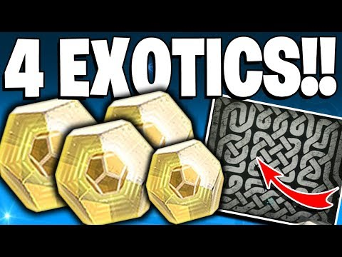 Destiny 2 Black Armory - 4 Exotics In One Day! 613 Power Level, New Exotic Quest & Exotic Puzzle? thumbnail
