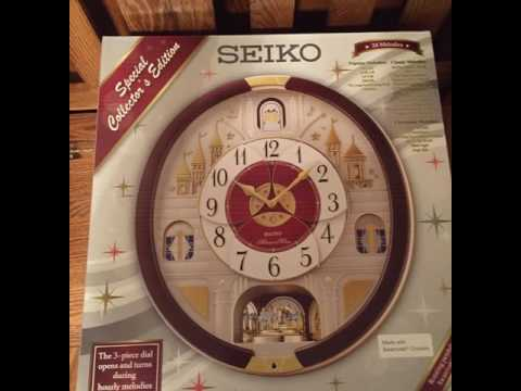 2016 seiko collectors clock from Sams club
