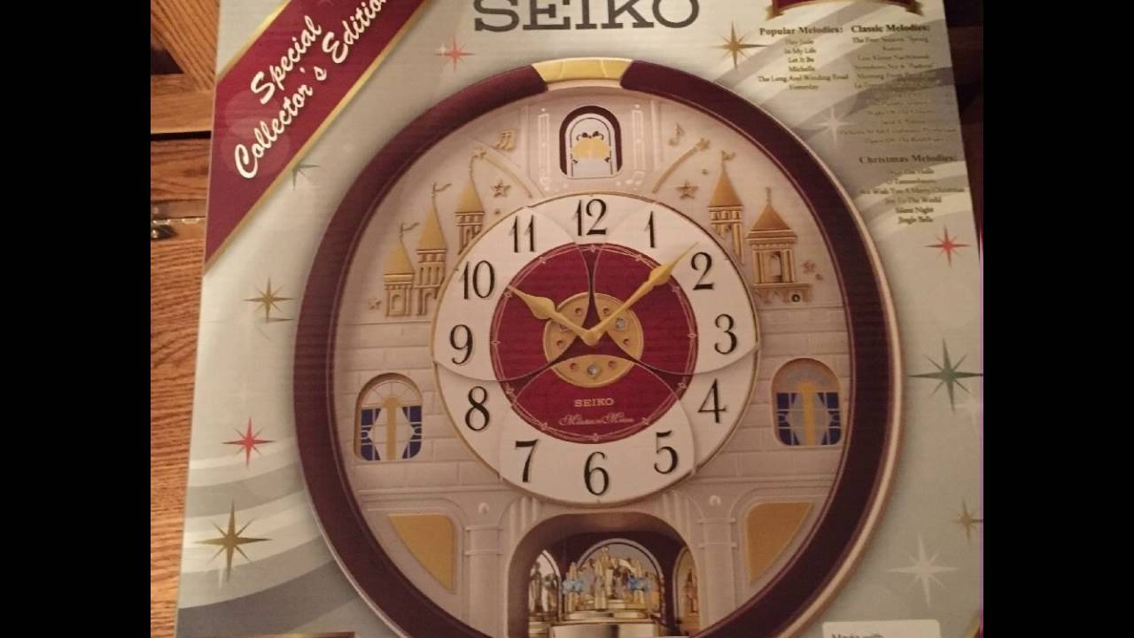 2016 seiko collectors clock from sams club youtube 2016 seiko collectors clock from sams club amipublicfo Images