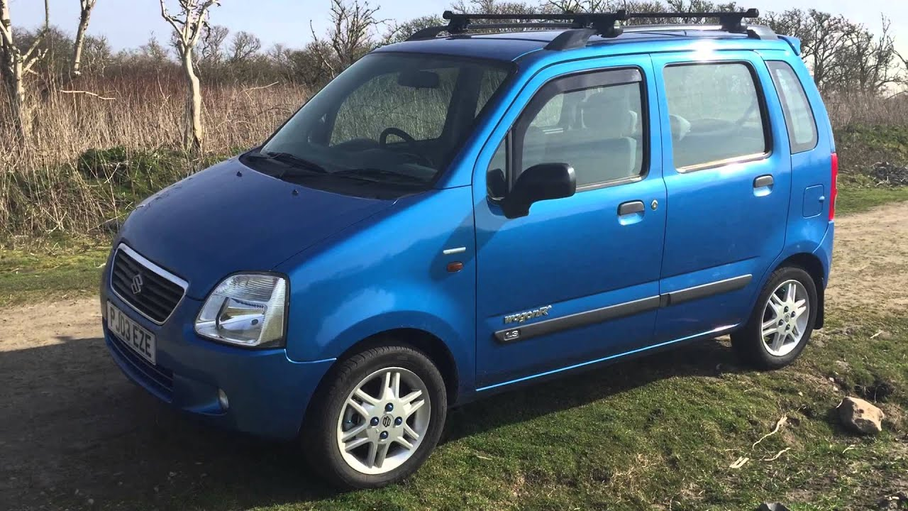 2003 SUZUKI WAGON R AUTOMATIC CLEANED WITH A TOOTHBRUSH