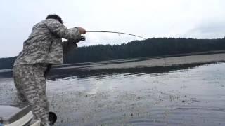 Рыбалка на Иркутском ВДХР (Курминский залив)