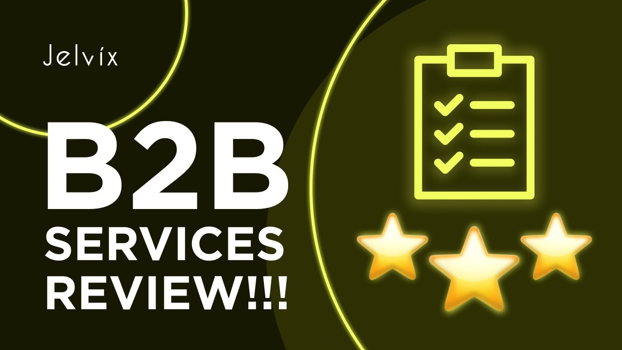 B2B SERVICES REVIEW AND RATING PLATFORMS