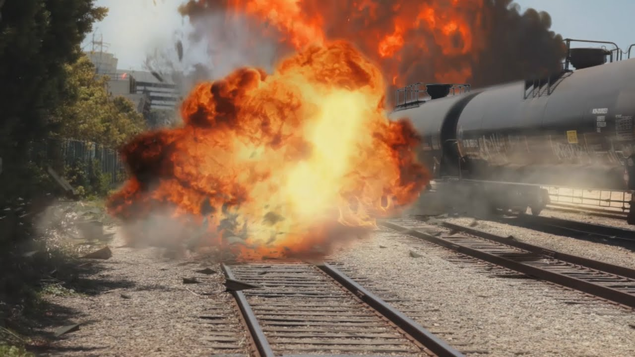 A train explosion after effects youtube for Explosions after effects