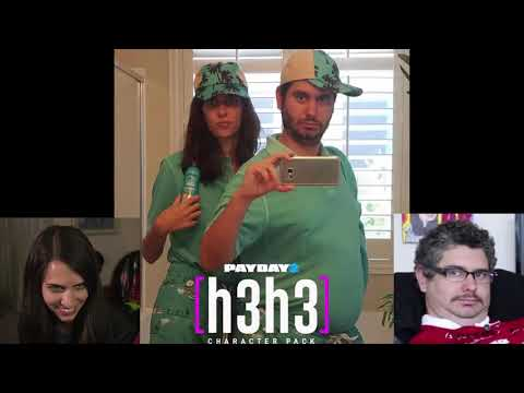 [OUTDATED - Check Description]Payday 2 - Ethan & Hila Voice Lines (H3H3 Character Pack)