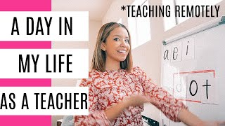 A Day In My Life Teaching Remotely