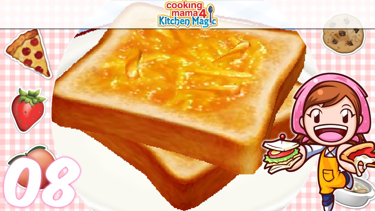 Let S Play Cooking Mama 4 Kitchen Magic Ep08 Toast With Jam