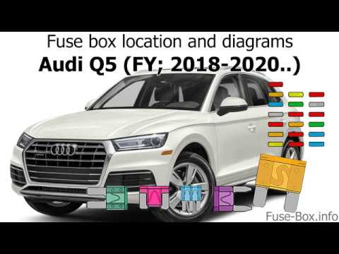 Fuse box location and diagrams: Audi Q5 (2018-2020..) - YouTube | Audi Q5 Fuse Box Location |  | YouTube