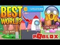 BEST ROBLOX MINING SIMULATOR WORLD TO MINE? *YOU WON'T BELIEVE THIS!*