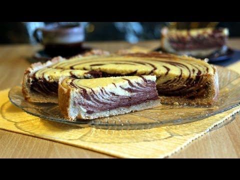 Zebra Schokoladen Kasekuchen Zebra Chocolate Cheesecake Youtube