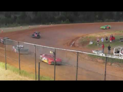 Mack10 Superstreet Heat Race Waycross Motor speedway 6-24-2018