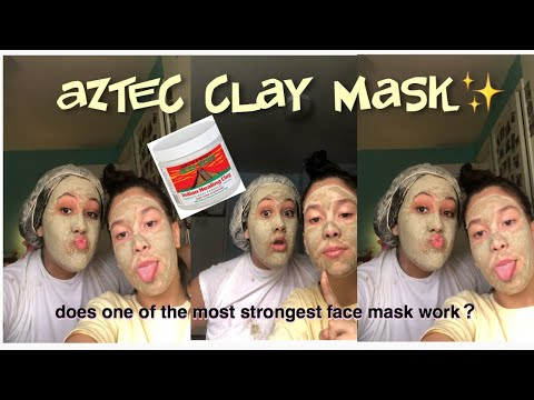 Trying the aztec clay mask for the FIRST TIME💆🏻♀️||hair&skin
