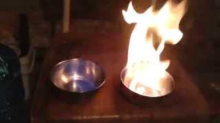 Burn Pure Methanol Vs Pure Ethanol