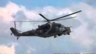Camera shutter speed synchronized with helicopter b