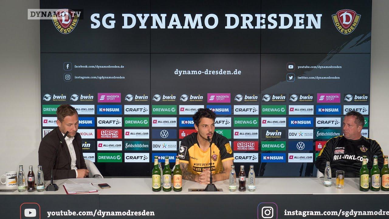 6. Spieltag   SGD - FSV   Pressekonferenz vor dem Spiel