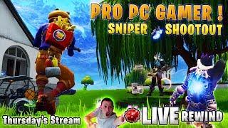 PRO PC Gamer 🔫 Heavy Sniper SHOOTOUT 🔫 SOARING 50s 🎧 GIVEAWAY - Fortnite Battle Royale 🔴 LIVE