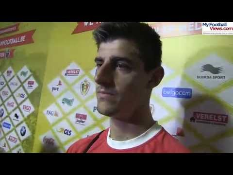 Thibaut Courtois on Chelsea future & Belgium's World Cup hopes