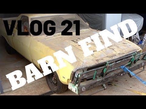 VLOG 21 -  XB Falcon Ute Barn Find In 2019