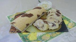 Արագ պատրաստվող Ռուլետ -- Лёгкий рецепт Бисквитного Рулета -Easy recipe of Biscuit Roll !