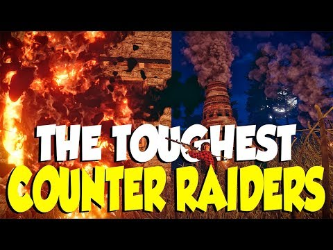 Raiding a Huge Zerg and Battling the Toughest Counter Raiders | RUST