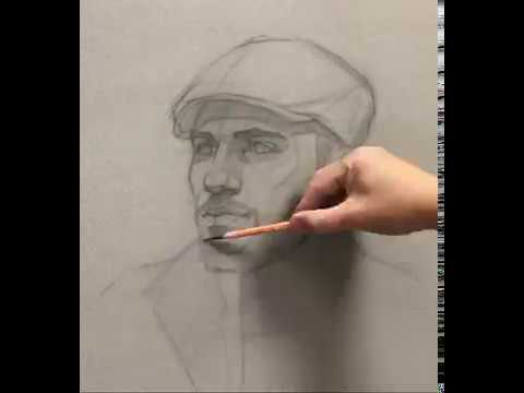 """Block-In Method - """"Portrait Of Michael"""". Full Video Available On Patreon."""