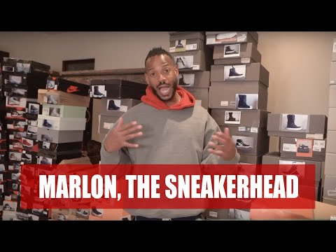 Marlon's Sneaker Collection ( Part 1) | Marlon Wayans