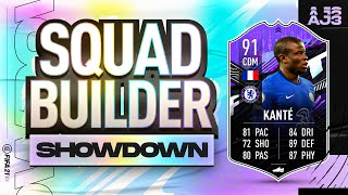 Fifa 21 Squad Builder Showdown!!! WHAT IF KANTE!!!