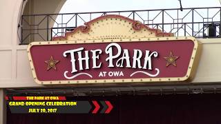 The Park At OWA Grand Opening Ceremony!