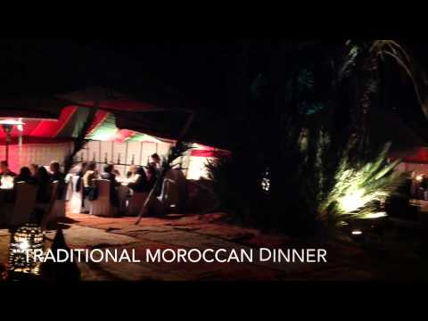 CNN Palm Grove Dinner With Activ'Travel Marrakech Morocco