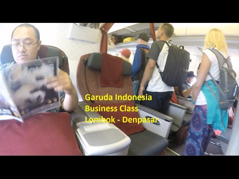FULL Flight Report | Business Class Garuda Indonesia | GA 437 Lombok to Denpasar