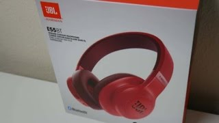 jbl e55bt bluetooth headphones review