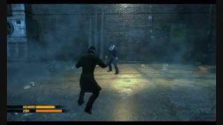 Watchmen: The End is Nigh Gameplay  Rorschach