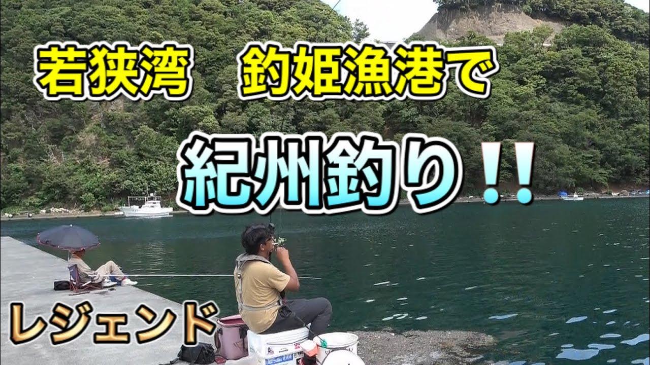 【チヌ釣り】下野プロと若狭湾.釣姫漁港で紀州釣り【ウキダンゴ釣り】