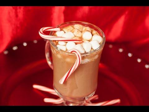 Peppermint Hot Chocolate Christmas Recipe