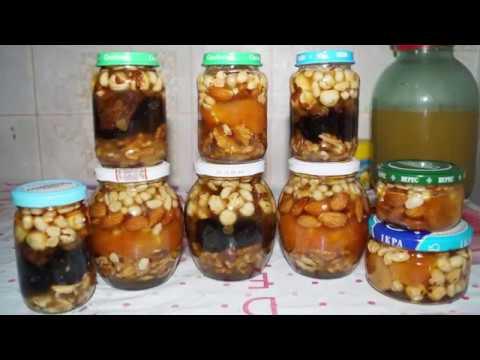 Медовые рождественские сладости, мёд и орехи | Анюта Журило