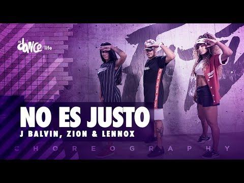 No Es Justo - J Balvin, Zion & Lennox | FitDance Life (Coreografía) Dance Video