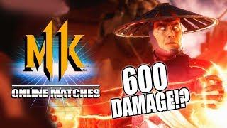 raidens electrifying 600 dmg combo raiden mk11 online matches