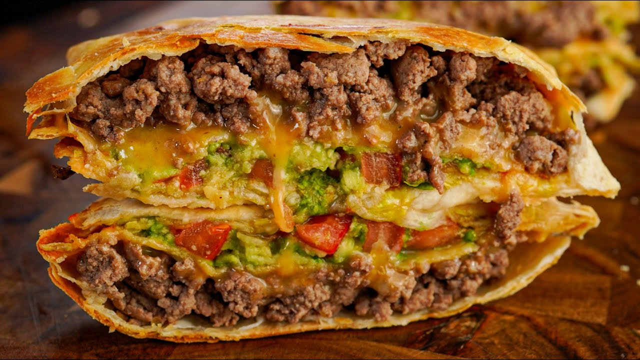 Low Cal Crunchwrap Supreme   Healthier Fast Food