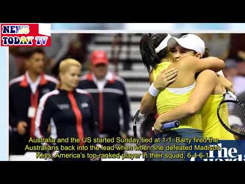 Ashleigh Barty-led Australia knock US out of Fed Cup Mp3