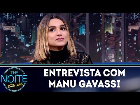 Entrevista com Manu Gavassi  The Noite 250518
