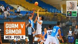 Guam v Samoa (Men) - Full Game - 2014 FIBA Oceania U19 Championship