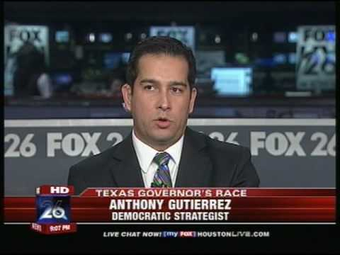 Fox26 News Houston: Jim McGrath and Anthony Gutierrez on TX Gov Race
