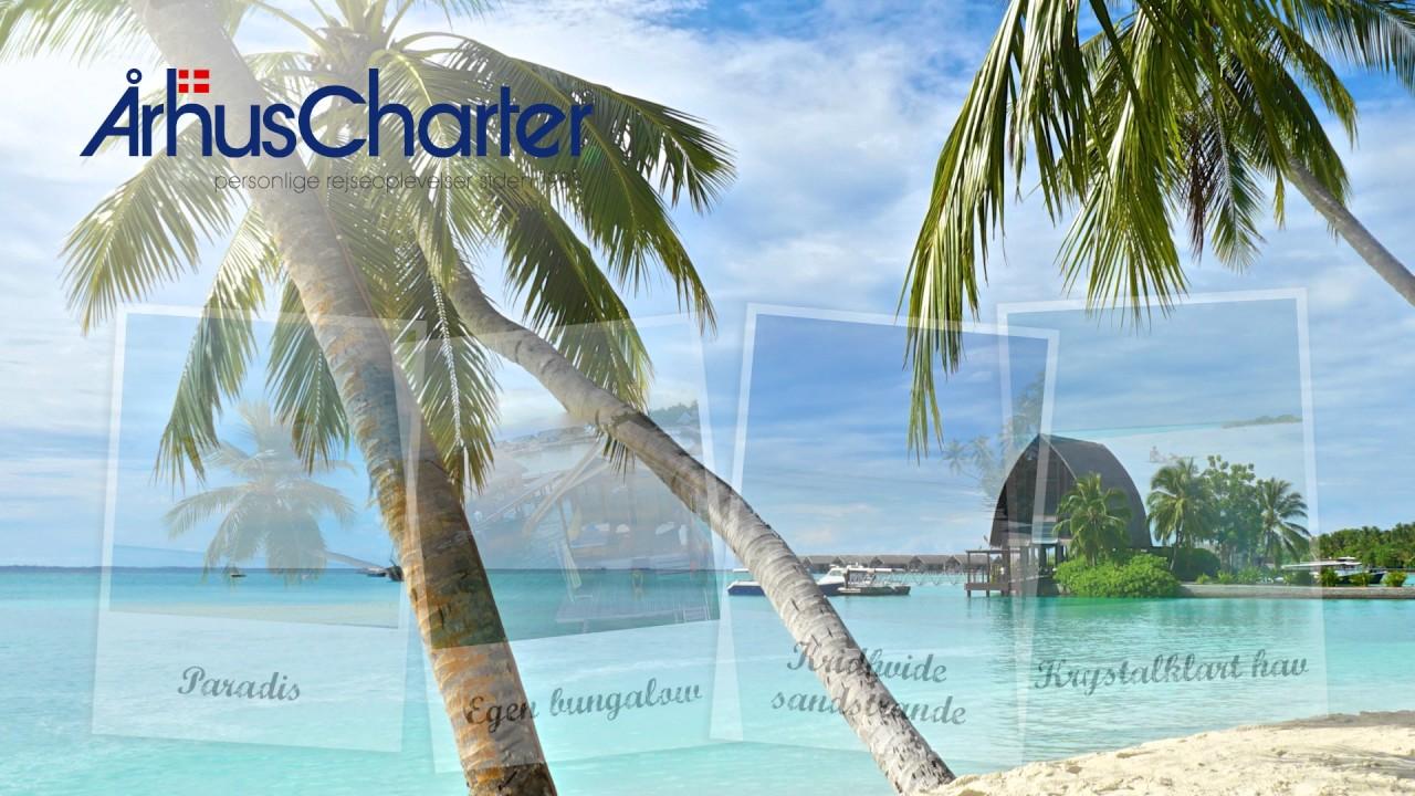 århus Charter Tv Spot Maldiverne Youtube