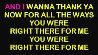 There You'll Be Karaoke    YouTube NR=1