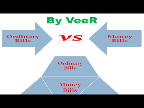 L-62-Difference Between Ordinary Bills & Money Bills-(Polity- Laxmikanth) By VeeR-(UPSC/ PSC/ SSC)