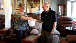 Ledger Furniture Facebook Recliner Giveaway