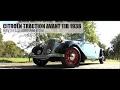 CITROËN TRACTION AVANT 11B 1938 CABRIOLET- Test drive - Engine sound | SCC TV