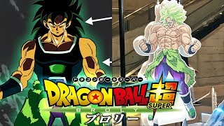 NEW! BROLY FULL DESIGN REVEALED!! DRAGON BALL SUPER - BROLY (2018-2019) NEW CHARACTER DESIGN