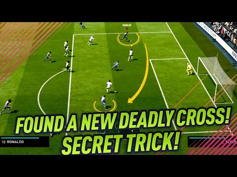 FIFA 18 FOUND A NEW DEADLY PASSING TRICK! HOW TO GLITCH DEFENSES & GOALKEEPERS TUTORIAL